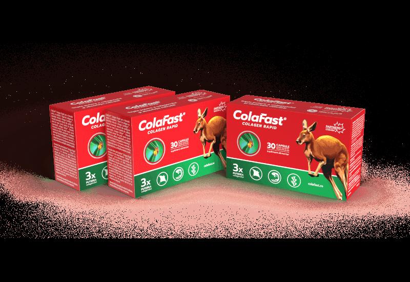 2 × Pachet ColaFast® Colagen Rapid 3 la pret de 2